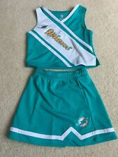 NFL MIAMI DOLPHINS CHEERLEADER OUTFIT SIZE 4T-3X NICE