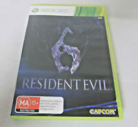 Mint Disc Xbox 360 Resident Evil 6 Free Postage From Me;bourne