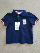 Boots Baby Boy 9-12m Navy Blue Polo Shirt - New With Tags