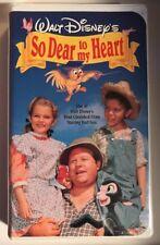 Disney's So Dear to My Heart (VHS, 1992) Burl Ives