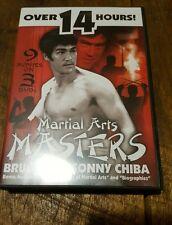 MARTIAL ARTS MASTERS - BRUCE LEE/SONNY CHIBA - 3DVD