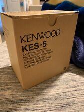 Kenwood KES-5 40 Watt External Mobile Speaker, 4 Ohms NEW