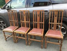 More details for arts and crafts chairs x 4