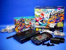 Nintendo Wii U Konsole Premium Pack 32GB Mario Kart 8 & Splatoon in OVP ~8207