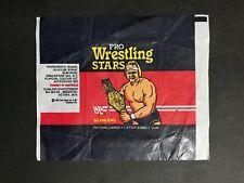 SCANLENS PRO WRESTLING STARS WAX WRAPPER FROM 1986