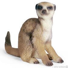 NEW SCHLEICH 14362 Meerkat Sitting - Wildlife Zoo Wild - RETIRED