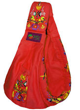 New Baba Sling Baby Carrier Embroidery Red Mexican Embroidered