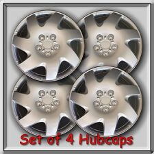 "14"" Silver hubcaps, wheel covers Fits steel wheels, Toyota, Nissan, Honda, etc."