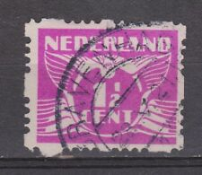Roltanding 35 gestempeld used MOOI STEMPEL 's Gravenhage Nederland syncopated