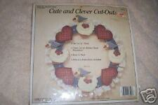 Demis Products Geese Wreath Cut Outs Kit, Nip