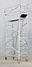 New Aluminium Scaffolding Mobile Scaffold 450KG WorkSafe Reg. 5.7m Access Height