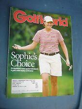 October 17, 2003 old vintage Golf World magazine