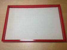 MARANELLO Display Exhibitor Tray Tray 40 cm x 27 cm - Red Red - Used in shop