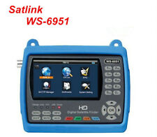 SATLINK WS-6951 DVB-S/S2 FTA HD Digital Satellite Finder MPEG-2/MPEG-4,QPSK,8PSK