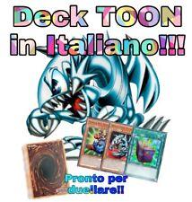 Yu-Gi-Oh! Deck TOON - Mazzo Completo 40 Carte - ITALIANO Pronto per Duellare