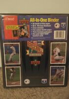 Mead 1993 Upper Deck Baseball Binder Portfolio Trading Cards MLB NEW VTG