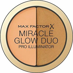 Max Factor Miracle Glow Duo Pro Illuminator Concealer & Highlighter 11g (DEEP)