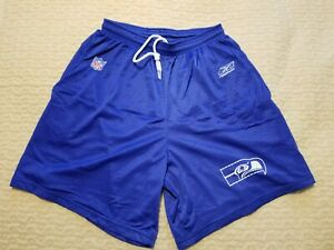 Seattle Seahawks Vintage training short from Kitna and Hasselbeck era Reebok Med