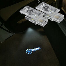 2x Stark Industries Logo Car Door Led Laser Projector Shadow Light For Cadillac