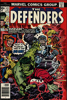 The Defenders #43 This World Is Mine Fine/Very Fine Marvel Comics 1976 CBX7A