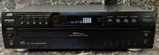JVC XL-F254BK CD Player 5 Disc Changer Pre-owned, Tested and Working.