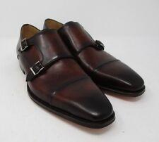 Magnanni Silvio Tabaco Double Monk Strap size 9.5 US (19855-12) 884