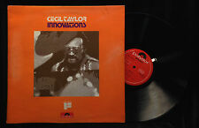 Cecil Taylor-Innovations-Polydor 2383-094-ENGLAND