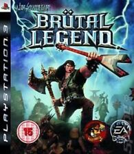RARE - BRUTAL LEGEND PS3 GAME - SLIGHTLY USED - IN BRAND NEW CASE - UK RELEASED