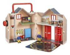New Fireman Sam Deluxe Fire Station Playset With Figures