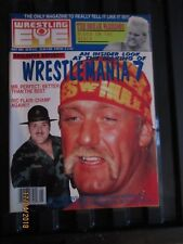 Revista Wrestling ojo de mayo de 1991 Sgt sacrificio/Hogan Cubierta Gratis P + P