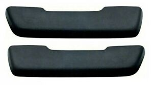NEW 1968 Oldsmobile Cutlass, 442, & F85 Front Arm Rest Pads- Black- Pair