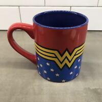 EXTRA LARGE 20 oz~DC Comics Wonder Woman Uniform~Ceramic Cup Mug COFFEE/SOUP