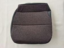 "Isuzu NPR, GMC W-Series Driver Bottom Seat Upholstery-Steel""Gray"" (Mordura)"