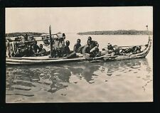 North Africa Algeria LAC TCHAD Ligne du Hoggar Pirogue en papyrus canoe RP PPC