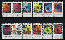 Nouveauté 2020 les 12 timbres du Carnet - COSMOS oblitérés