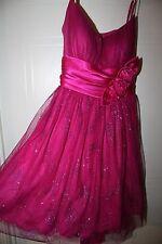 Beautiful *Sparkling Fushia*  formal Homecoming/Party dress sz 11   EUC