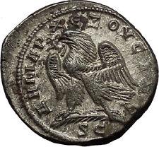TRAJAN DECIUS 249AD Tetradrachm Large Silver Roman Coin Eagle Antioch i53423