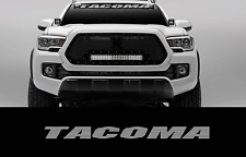 """Tacoma 36"""" Front Windshield Banner Decal Toyota Truck Off Road Sport 4X4 2wd"""