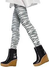 Zebra Print Tights