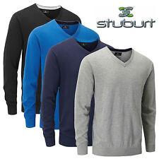 Cotton Blend Long Sleeve Golf Shirts, Tops & Jumpers for Men