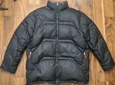 Vintage Nike Down Puffer Jacket Winter Coat Mens Size XXL 2XL Black Big Tall
