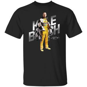 Men's #18 Kyle Busch Nascar Champions 2020 Black T-shirt S-4XL