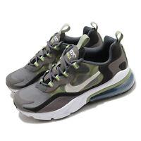 Nike Air Max 270 React GS Iron Grey Green White Kid Women Casual Shoe BQ0103-022
