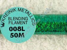 Kreinik Blending Filament 008L Kinetic Kelly Holographic Metallic Thread 50M