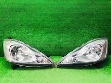 JDM 2009-2010 Honda FIT GE GE6 JAZZ  Halogen Headlights Lights Lamps