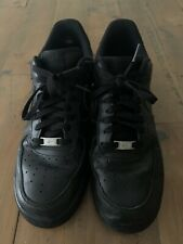 Black Air Force 1 Mens UK Size 9.5 Nike Trainers Shoes Sneakers