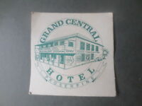 1 only CASTLEMAINE XXXX BREWERY,/Grand Central Hotel  collectable COASTER