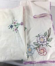 Hand Embroidered Vintage Tablecloths 2