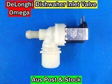 Omega, De'longhi Dishwasher Spare parts Inlet Valve Replacement (D222) New