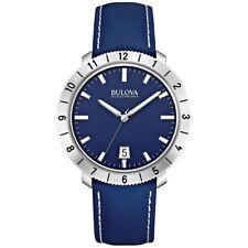 Bulova Accutron II Mens Precisionist Blue Watch 96B204